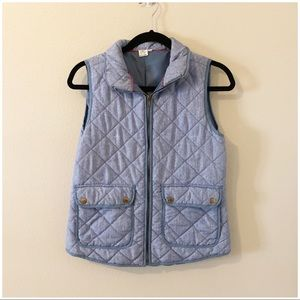 Artisan New York Blue Quilted Vest